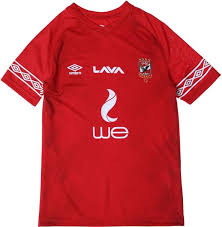 Terrace gear allow anyone to design football shirts for sale, or even create your own football shirt brand! Umbro Al Ahly Short Sleeve V Neck Fan Jersey Home For Kids Red Price In Egypt Souq Egypt Kanbkam