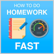 The Secret To Doing Your Homework Fast   YouTube