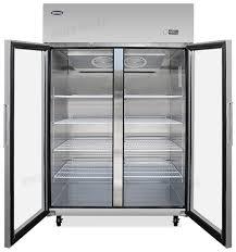 commercial 2 door freezer