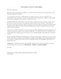 Example Welcome Letter For New Employee Cruise Wedding Template
