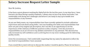 Increment Letter New Employee Increase Letter Template Cassifieldsco