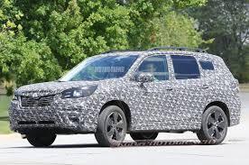2018 subaru forester redesign. Delighful Subaru 2019 Subaru Forester Caught Testing In 2018 Subaru Forester Redesign