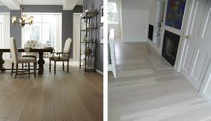 left oak wood floors and prefinished wood floors from carlisle wide plank floors right
