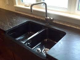 granite countertops with custom leather finish calgary