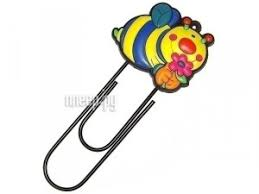 Купить <b>Закладка</b>-<b>скрепка Эврика Пчела</b> 91548 по низкой цене в ...