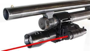 Mossberg 500 Tactical Light Trinity 1200 Lumen Strobe Flashlight With Red Dot Sight Kit For 12 Gauge Pump Mossberg Remington Maverick 88 Picatinny Weaver Base Mount Aluminum