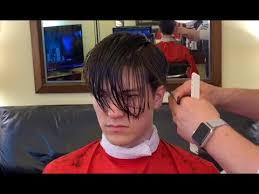styling long top short sides men s hair