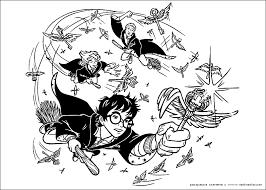 Small Picture Harry Potter coloring pages 5 Harry Potter Kids printables