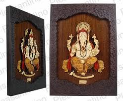on ganesh 3d wall art with wall hanging lord ganesha 3d vines style frame