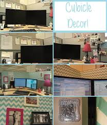 decorations for office cubicle. cubicle decor before and after decorations for office