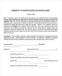 20+ Leave Letter Templates - Pdf, Doc | Free & Premium Templates