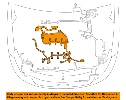 ford oem explorer engine control module ecm pcu pcm wiring harness ford oem explorer engine control module ecm pcu pcm wiring harness du5z12a581u
