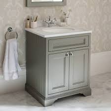 Burlington Olive Freestanding Vanity Unit With Minerva