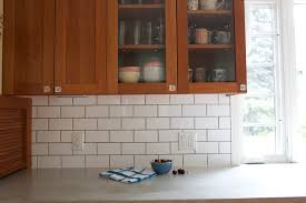 subway tile backsplash with cherry cabinets. Interesting With IMG_7919 In Subway Tile Backsplash With Cherry Cabinets