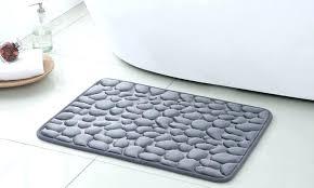 memory foam bathroom rug set memory foam bath rug set pebbles massage 2 piece memory foam