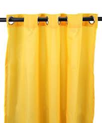 dandelion white stripe indoor outdoor curtain panel