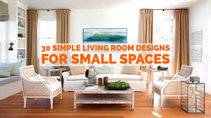 simple living rooms. Plain Rooms 30 Simple Living Room Designs For Small Spaces Rooms