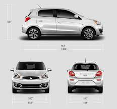 2018 mitsubishi mirage hatchback. contemporary hatchback 2018 mitsubishi mirage measurements on mitsubishi mirage hatchback