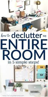 how to organize office space. How To Declutter An Entire Room In 5 Simple Steps: My Organized Office Organize Space