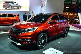 2014 honda crv changes. Fine Changes 2015 Honda CRV Front Three Quarters At The Paris Motor Show 2014 On Crv Changes
