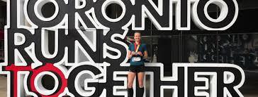 Toronto Waterfront Marathon Elevation Chart Toronto Waterfront Marathon Photo Girl Runs