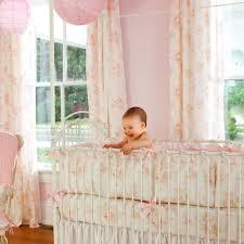 Peach Bedroom Curtains Peach Baby Girl Vintage Nursery Bedding White Crib Bumper Brown