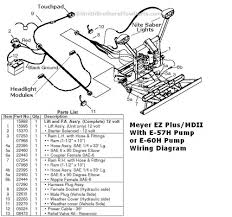 meyer e 58h plow wiring diagram auto electrical wiring diagram 1 piece plug for meyer plow md ii and ez plus mountings