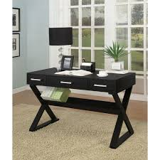 black desks for home office. interesting office cool three drawer and shelves with modern computer desk black  table lamp also blue  home office  for desks s