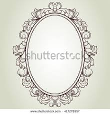 Vintage frame design oval Powerpoint Border Vintage Oval Frame Set Round Square Vintage Frames Design Stock Vector Shutterstock Top Designs Vintage Oval Frame Set Round Square Vintage Frames Design Stock