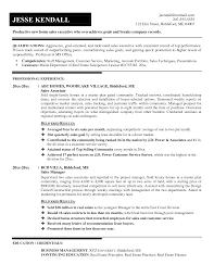 Sample Resume For Sales Full Size Of Resumeresume Template