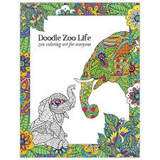 tree free greetings coloring book zoo s stress relief mindfulness and