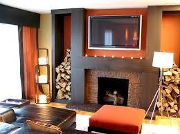 burnt orange and brown living room. Orange Living Room Design Adorable 3c0ec224f6c8a4f82d26d0ce884ac583 Fireplace Burnt And Brown E
