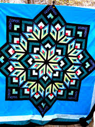 Log Cabin Star Quilt Pattern &  Adamdwight.com