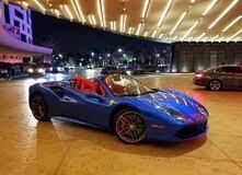 Hollywood Florida U S A 2 Januar 2020 Ein Blauer Ferrari Am Eingang Des Seminole Hard Rock Cafe Und Casino Redaktionelles Stockbild Bild Von Besucher Bunt 169697809