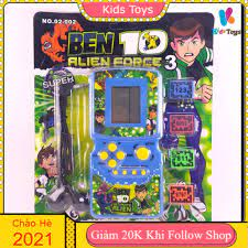 Máy chơi game điện tử cầm tay huyền thoại Brick game 9999 in 1