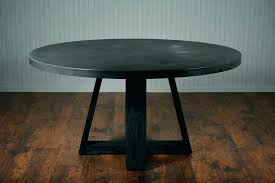 round dining table base ideas precast concrete for granite top