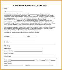 Installment Of Agreement Sample Retail Sales Contract Example ...