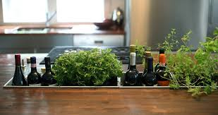 dc metro ll bean water bottles with contemporary countertop e racks kitchen and herb garden built