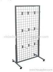 Mesh Display Stands Wire mesh display rackmetal display stand products China 2