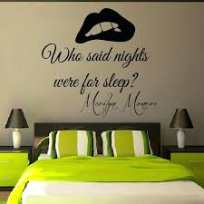 Bedroom Wall Quotes Inspiration Stickers For Bedroom Walls 48 Bedroom Quotes On Pinterest Bedroom