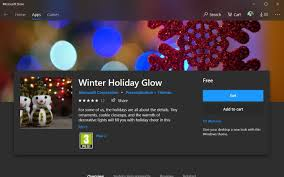 Windows 10 Winter Theme Microsoft Releases New Winter Holiday Glow Wallpapers For