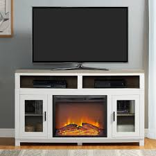 callowhill 54 tv stand with fireplace