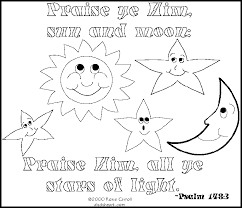 Free Bible Verse Coloring Pages For Kids The Color Panda