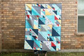 Triangles at Play Quilt &  Adamdwight.com