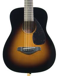 yamaha 3 4 guitar. yamaha jr2tbs 3/4 scale folk acoustic guitar tobacco sunburst 3 4