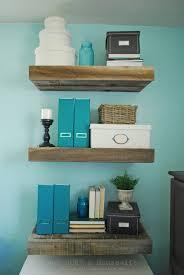 wall shelves for office. Alluring Reclaimed Wood Floating Shelves Style Shelf Pretty Diy Chunky Sofa Bookshelves Inch Brackets Shaped Desk Wall For Office I