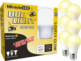 Led Yellow Bug Light Pin On Light Bulb