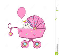 Baby Carriage Vector Stock Vector Illustration Of Birthday 23902488