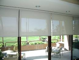 black sliding glass doors roller shades for door org plan framed regarding designs 19