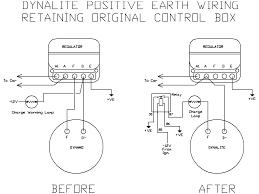 lucas c39 40 dynalite positive earth s